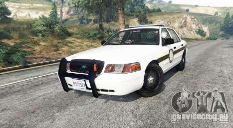 Ford Crown Victoria State Trooper [replace] для GTA 5 вид справа