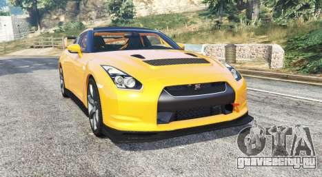 Nissan GT-R (R35) v1.1 [replace] для GTA 5