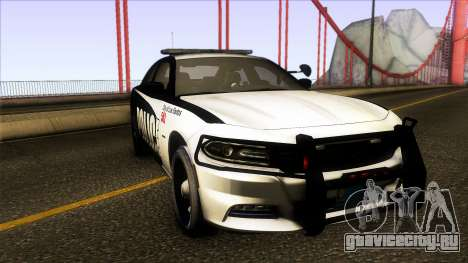 Dodge Charger 2016 LSPD для GTA San Andreas