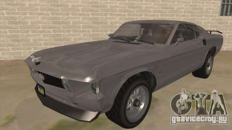 GTA V Vapid Dominator Classic для GTA San Andreas
