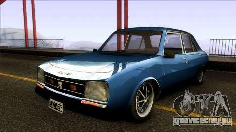 Peugeot 504 XSE для GTA San Andreas