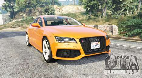 Audi RS 7 Sportback v1.1 [replace] для GTA 5