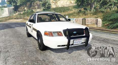 Ford Crown Victoria State Trooper [replace] для GTA 5