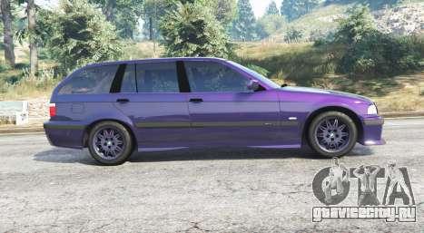 BMW M3 (E36) Touring v2.0 [replace] для GTA 5 вид слева