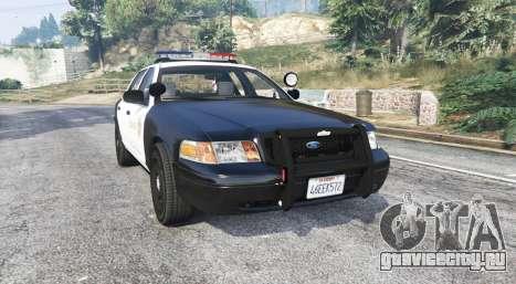 Ford Crown Victoria LSSD [ELS] [replace] для GTA 5