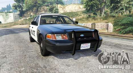Ford Crown Victoria LSPD [replace] для GTA 5