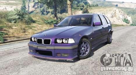 BMW M3 (E36) Touring v2.0 [replace] для GTA 5 вид справа