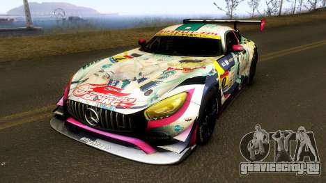 Mercedes Benz AMG GT3 Goodsmile Racing 2018 для GTA San Andreas