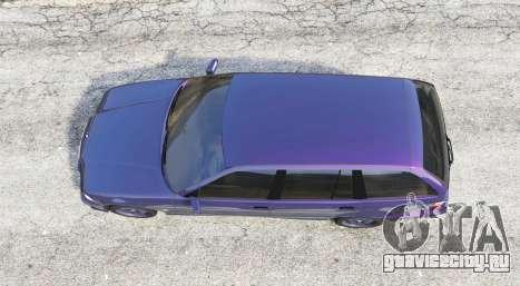 BMW M3 (E36) Touring v2.0 [replace] для GTA 5 вид сзади