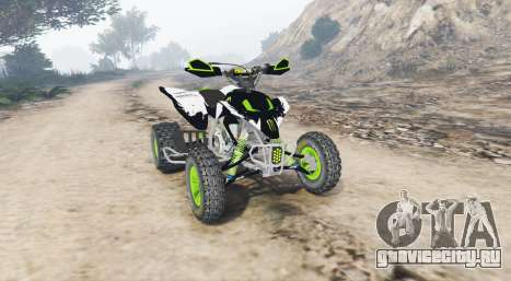 Yamaha YFZ450 Monster Energy v1.1 [replace] для GTA 5