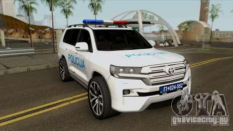Toyota Land Cruiser 200 Interventna Jedinica 92 для GTA San Andreas
