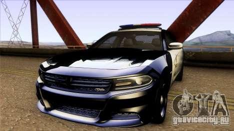 Dodge Charger SRT8 Hellcat - LSPD [IVF] для GTA San Andreas