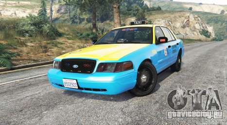Ford Crown Victoria Undercover Police [replace] для GTA 5 вид справа