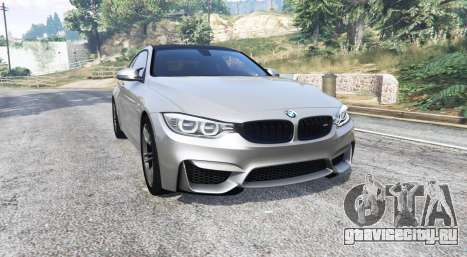 BMW M4 (F82) 2015 [replace] для GTA 5