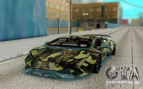 Lamborghini Huracan Performante Liberty Walk для GTA San Andreas