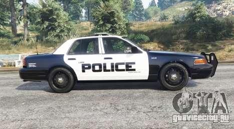 Ford Crown Victoria LSPD [replace] для GTA 5 вид слева