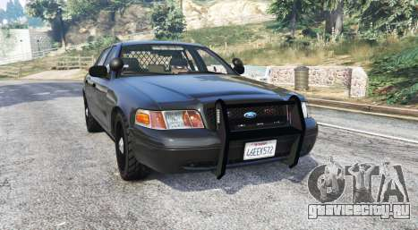 Ford Crown Victoria FBI v3.0 [replace] для GTA 5