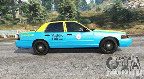 Ford Crown Victoria Undercover Police [replace] для GTA 5 вид слева
