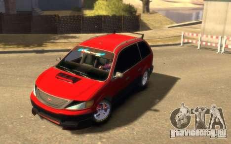 Vapid Minivan для GTA 4