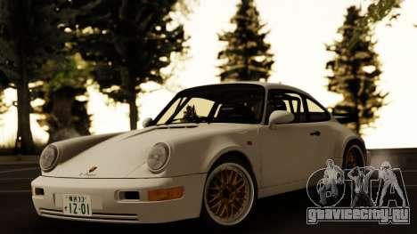 Porsche 964 Turbo для GTA San Andreas