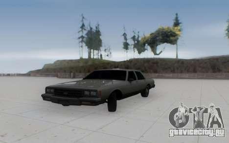 Chevrolet Impala 1984 для GTA San Andreas