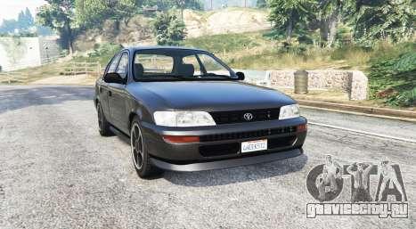 Toyota Corolla v1.15 black edition [replace] для GTA 5
