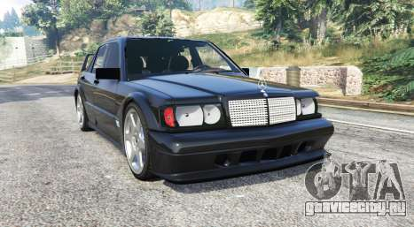 Mercedes-Benz 190 E Evolution II v1.2 [replace] для GTA 5