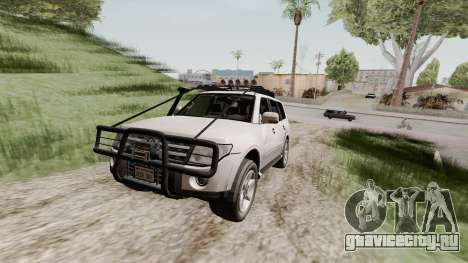 Mitsubishi Pajero v1.3 для GTA San Andreas