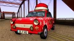 Trabant 601 Christmas Edition для GTA San Andreas