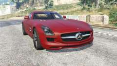 Mercedes-Benz SLS 63 AMG (C197) v1.3 [replace] для GTA 5