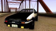 Toyota Corolla AE86 Spinter Trueno GT-Apex 1986 для GTA San Andreas