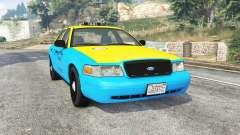 Ford Crown Victoria 2008 Taxi v1.2b [replace] для GTA 5