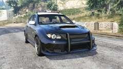 Subaru Impreza WRX STi LAPD v1.1 [replace] для GTA 5