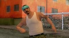 New Varios Los Aztecas Skin 3 для GTA San Andreas
