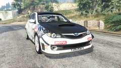 Subaru Impreza WRX STI Nakazato v1.2 [replace] для GTA 5