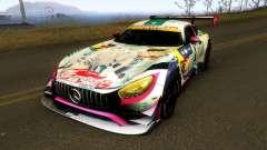 Mercedes Benz AMG GT3 Goodsmile Racing 2018 для GTA San Andreas
