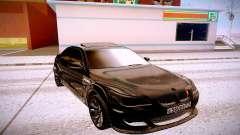 BMW M5 E60 чёрный для GTA San Andreas