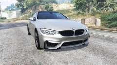 BMW M4 (F82) 2015 [replace] для GTA 5