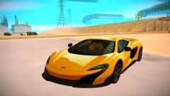 McLaren 675LT для GTA San Andreas