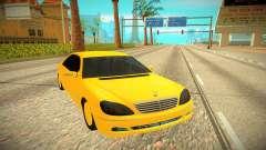 Mercedes-Benz S600 W222 для GTA San Andreas