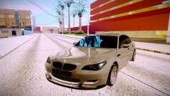 BMW M5 E60 серебристый для GTA San Andreas