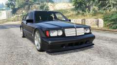 Mercedes-Benz 190 E Evolution II v1.2 [replace] для GTA 5