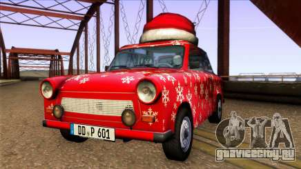 Trabant 601 Christmas Edition для GTA San Andreas