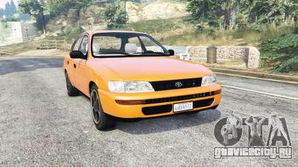 Toyota Corolla v1.15 [replace] для GTA 5