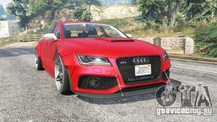 Audi RS 7 Sportback X-UK v1.1 [replace] для GTA 5