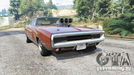 Dodge Charger RT (XS29) 1970 v4.0 [replace] для GTA 5