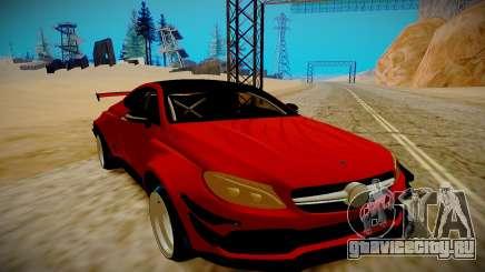 Mercedes Benz C63 S Coupe для GTA San Andreas