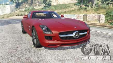 Mercedes-Benz SLS 63 AMG (C197) v1.3 [replace] для GTA 5