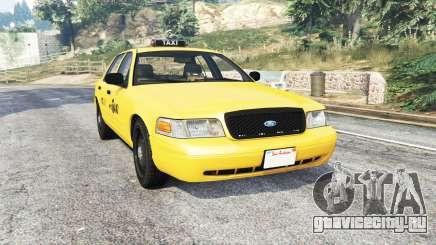 Ford Crown Victoria NYC Taxi [replace] для GTA 5