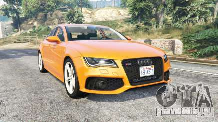 Audi RS 7 Sportback v1.1 [replace] для GTA 5